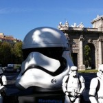 "Los cascos de Star Wars ""invaden"" Madrid."